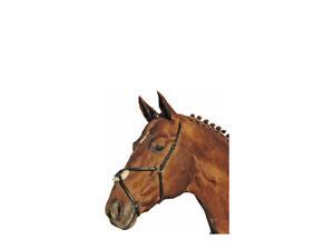 HKM bronzé Muserolle allemande en cuir, Poney S/N Full, noir, livraison gratuite  </span>