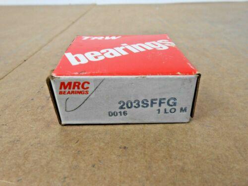 1 NIB MRC 203SFFG DEEP GROOVE BALL BEARING 17MM X 40MM X 12MM SHIELDED 2 AVAIL