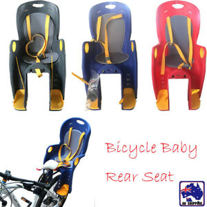 Details about Kids Bike Bicycle Rear Seat for Child Baby Toddler Infant  Carrier Red BSE0017