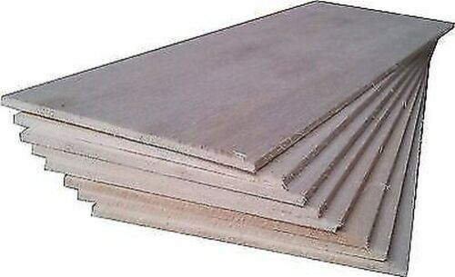 Bois Balsa 8 Sheets 30.5cm X 7.6cm X 0.3cm 305mm X 75mm X 3mm Nouveau
