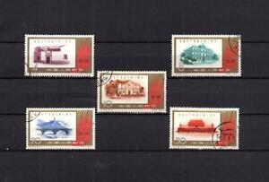 CHINA-TAIWAN-COMPLETE-SET-OF-OF-USED-STAMPS-ARCHITECTURE-LOT-CH-75