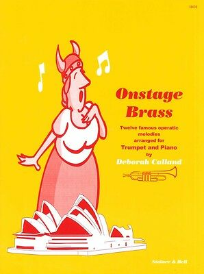 Contemporary Musical Instruments & Gear Apprehensive Onstage Brass Calland Trumpet And Piano