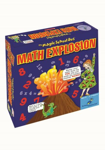 The Magic School Bus Math Explosion Board Game Scholastic Kids