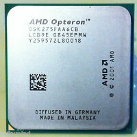 Brand Amd Opteron 275 He Italy Dual-core 2.2ghz Socket 940 55w Osk275faa6cb