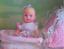 thumbnail 3 - Barbie Walking & New Baby Sister krissy Doll Stroller -1999 Mattel NRFB New