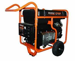 Generac 5734 GP15000E 15000 Running Watts/22500 Starting Watts Electric Start Ga