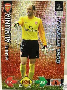 Super Strike Update Manuel Almunia Goal Stopper-afficher Le Titre D'origine Artisanat D'Art