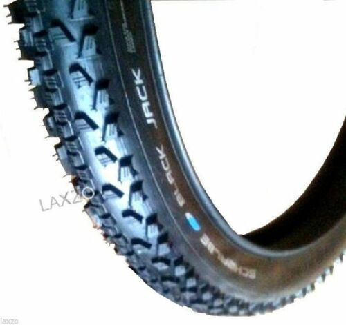 "26""X1.90 SCHWALBE BLACK JACK TYRES NEW BLACK MOUNTAIN BIKE TYRE 1PC"
