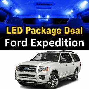 Details About 12x Blue Led Lights Interior Package Deal For 2007 2016 2017 Ford Expedition