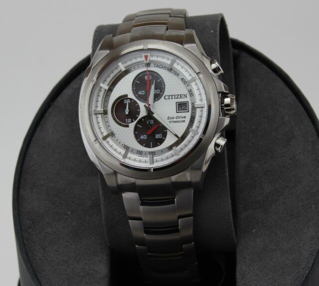 a8e2d835e Citizen Eco-drive Mens Super Titanium Chronograph With Sapphire Glass  Ca0550-52a