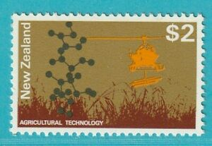 La Nouvelle-zélande De 1970 ** Cachet Minr. 537 Hélicoptère-afficher Le Titre D'origine