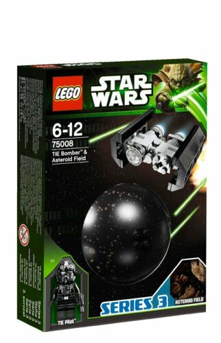 LEGO ® Star Wars ™ 75008 Tie Bomber ™ /& Asteroid Field NUOVO NEW OVP MISB