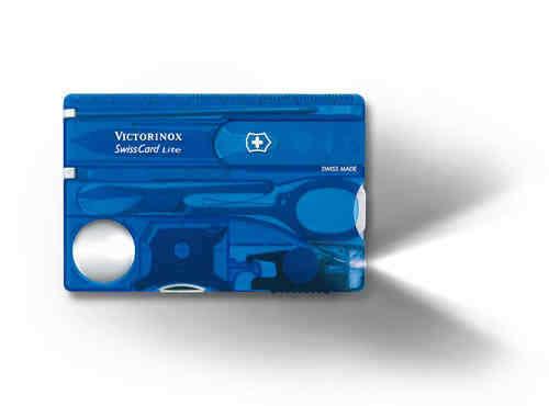 VICTORINOX SWISSCARD LITE Blau NEUF emball in der Region