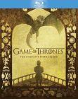 Game of Thrones Series 5 Blu-ray /fifth 5th Season Five 5051892193832