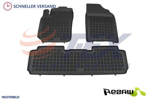 3D Gummi-Fußmatten für RENAULT SCENIC IV ab 2016 3 tlg Gummimatten