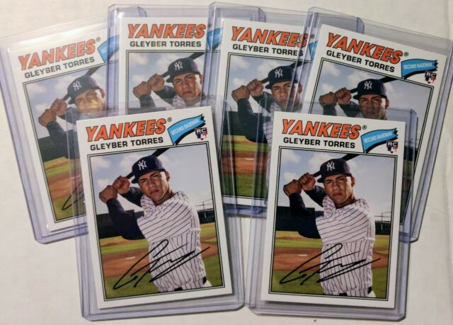 2018 TOPPS ARCHIVES * GLEYBER TORRES 6 CARD LOT * RC * CLEAN! YANKEES!