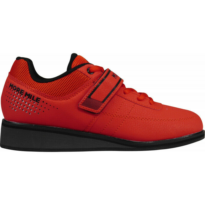 Mens More  Mile More Lift 4 Weightlifting  Crossfit shoes - Red  free shipping!