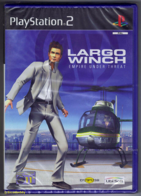 PS2 Largo Winch: Empire Under Threat (2002), UK Pal, New & Sony Factory Sealed