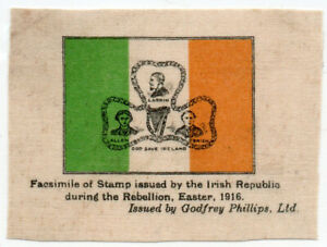 I-B-Ireland-Political-Manchester-Martyrs-Label-reprint-on-silk