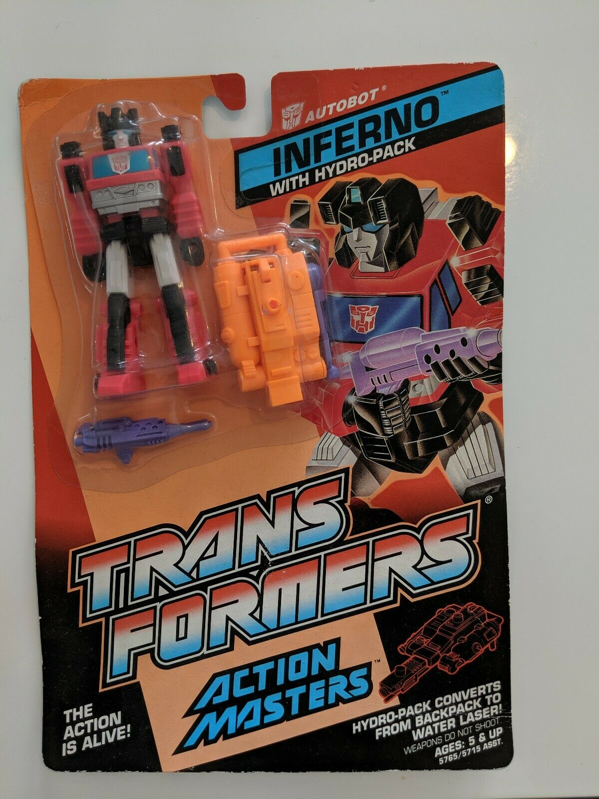 Hasbro Transformers Action Masters INFERNO Sealed