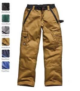 300 Lavoro Tasche Cargo 7 Ginocchiera Dickies Workwear Industria Pantaloni Kaki q1OIUcw7Ex