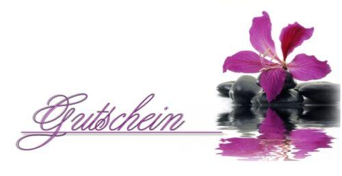 10 chèques coupon cartes Bon Cadeau-Bien-être massage Beauty Edel