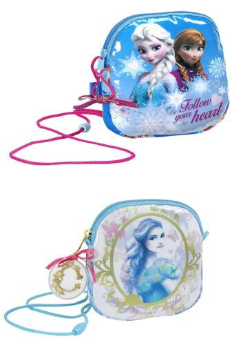 Disney Enfants Petite Zippée Sac-Sac à main Cordon Sangle-congelés ou Cendrillon