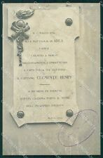 Torino Susa Caserma Clemente Henry Artiglieria Adua Foto cartolina QT5455