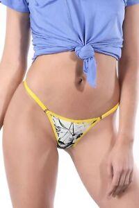 9e76c4dda3e1 Image is loading Floral-Brazilian-String-Bikini-Underwear-Cheeky-V-Cut-