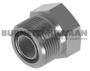 O Ring Face Seal Adaptor Burnett /& Hillman ORFS plug WITH O/'RING