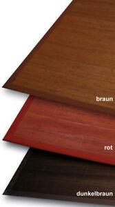 Tapis-en-Bambou-3-Mm-Parquet-Brun-Fonce-70x133-Cm-avec-5cm-Baumwollbordure