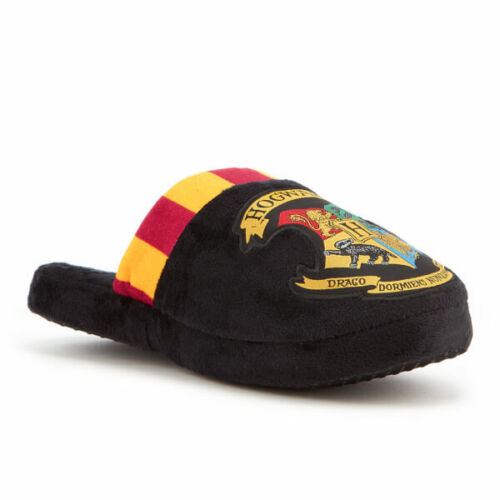 NEW OFFICIAL HARRY POTTER HOGWARTS HIGH QUALITY MULE SLIPPERS SIZE