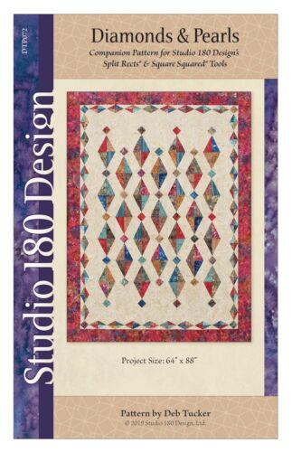 "Studio 180 Design ""Diamonds /& Pearls"" Quilt Pattern"