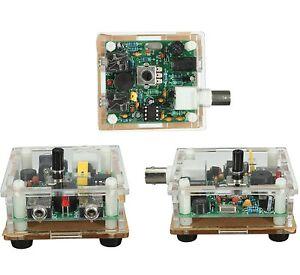 Assembled S-PIXIE CW QRP Shortwave Radio Transceiver 7.023Mhz With Case 9-13.8V