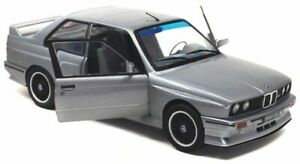 SOLIDO-1801501-1801502-1801506-BMW-E30-M3-model-road-cars-black-red-silver-1-18