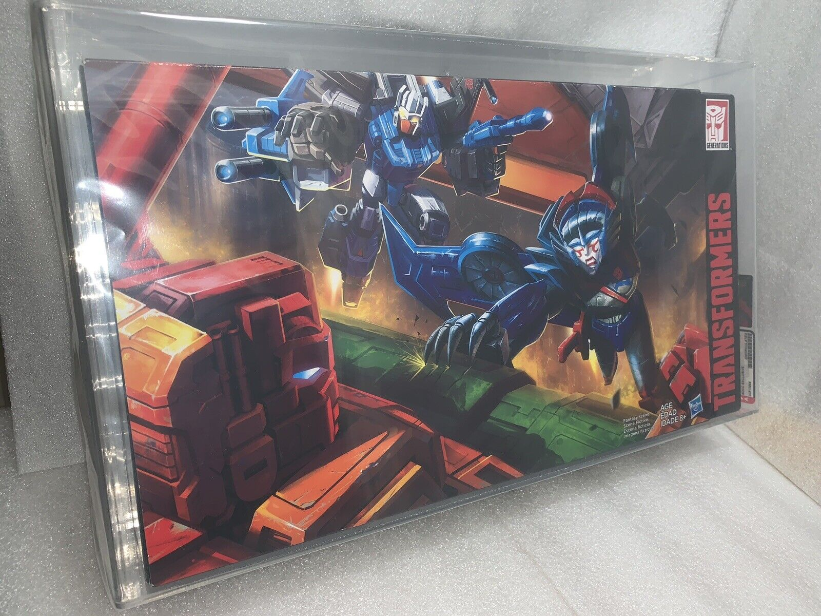 2016 SDCC Exclusive Transformers Titans Returns Titan Force AFA Graded U9.0