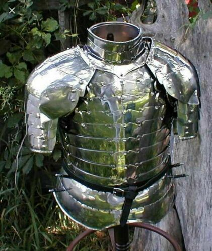 Medieval Knight Warrior Chest Armor Italian Cuirass Fighting Gothic Breastplate