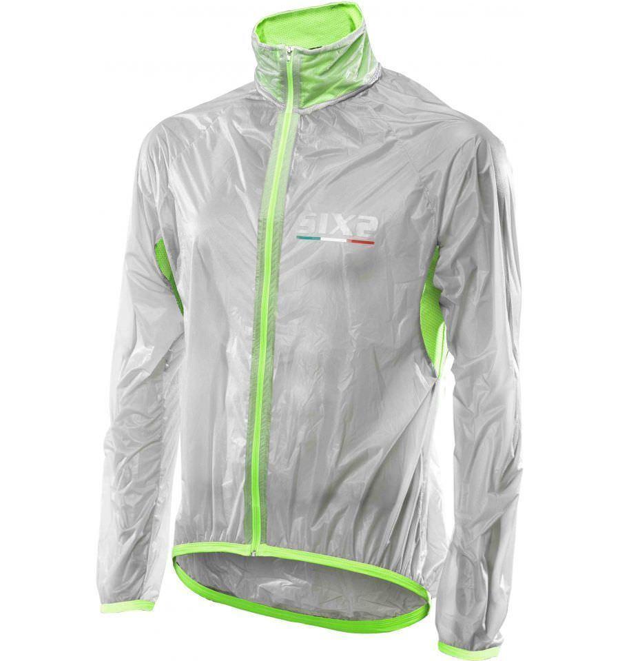 Cape SIX2 Mant w transparent grün grün grün fluo Manty SIX2 Mant w grün fluo zwischen a50539