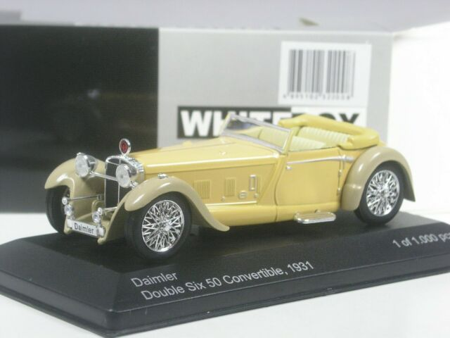 Classe : Whitebox Daimler Double Six 50 Convertible 1931 Beige IN 1:43 IN Ovp