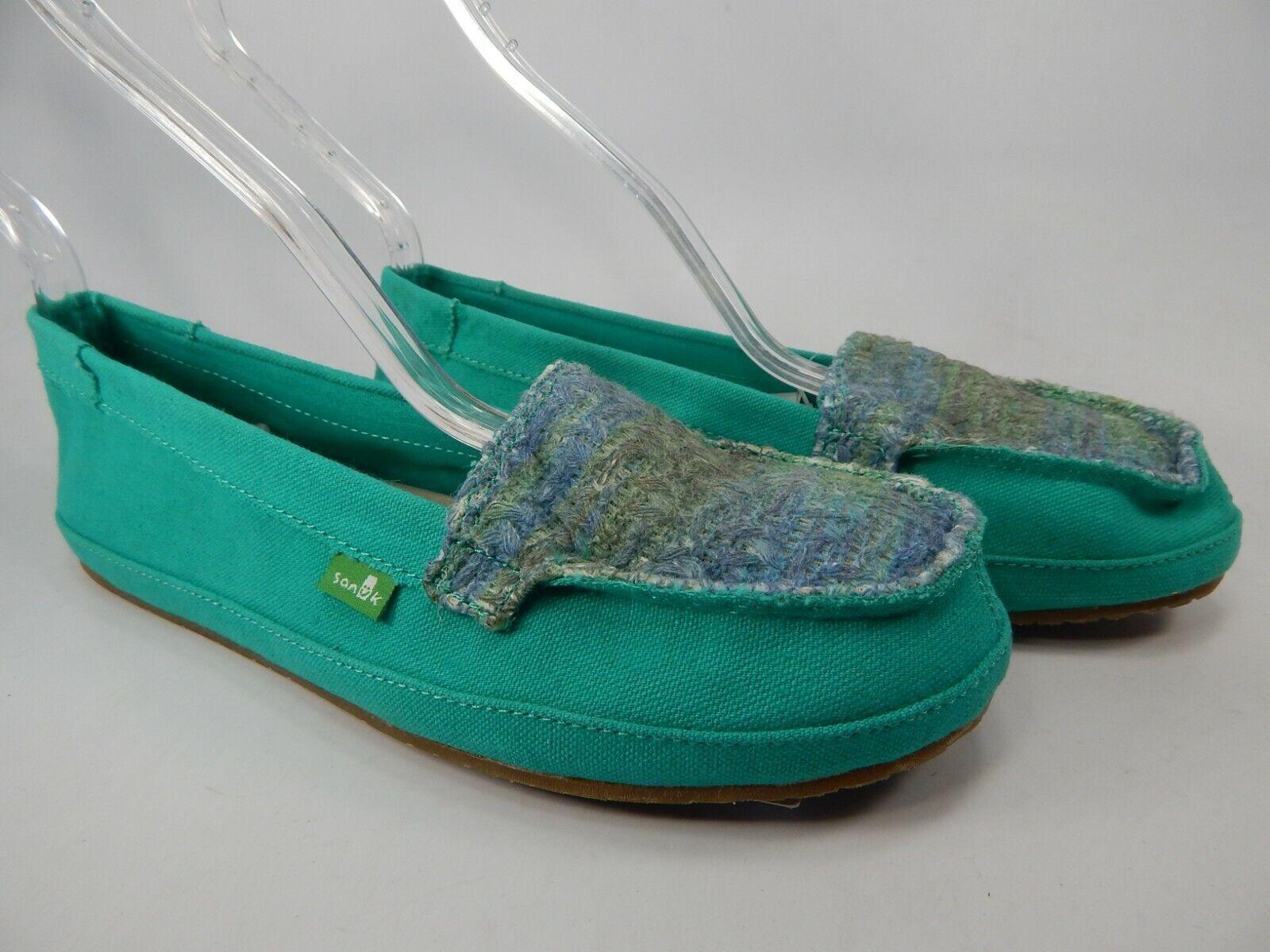 Sanuk Zu Zu Udpate Sidewalk Surfers Size 7 M (B) EU 38 Women's Slip On shoes
