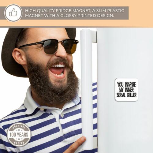 Super Aimant de Réfrigérateur Drôle Sarcasme guillemets Art Cool Cadeau #13236