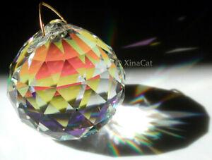 Strass-Swarovski-20mm-AB-Sphere-Austrian-Crystal-Prism-Ball-SunCatcher-7-8-034