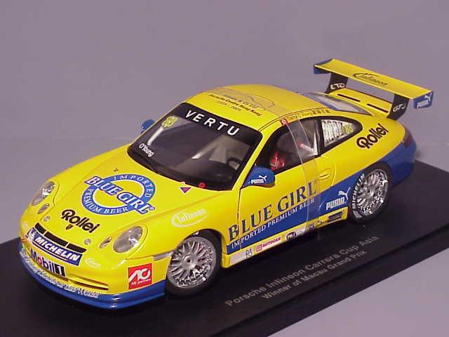 PORSCHE 911 996 GT3 CUP INFINIEON  88 MACAU WINNER 2005 DARRYL O'YOUNG AUTOART 8