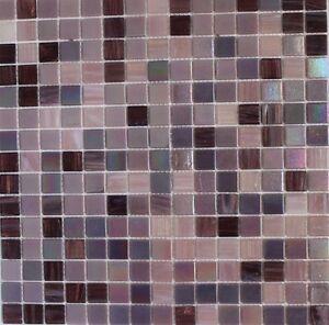 sweet purple 034 iridescent glass tile mosaic tiles kitchen backsplash