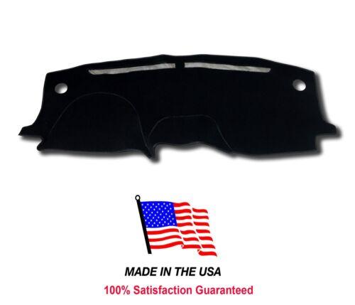 Black Carpet Dash Mat Compatible w// 2005-2010 Honda Odyssey Dash Cover USA MADE