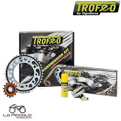100% Vero Kit Trasmissione Trofeo Catena Corona Pignone Honda 400 Vfr R 1990 1991 Acquisto Speciale