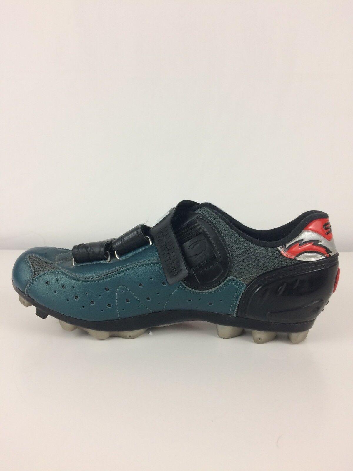 Sidi Dominator 4 Ciclismo Zapatos Talle 6 EE. UU. para hombre para mujer 7 verde Esmeralda