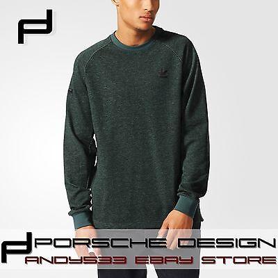 Porsche Design 911 adidas Originals Cotton Sweatshirt Mens Jumper Cardigan S M L