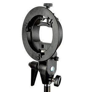 PhotR-S-Type-Bracket-Bowens-Mount-Holder-Fit-Speedlite-Flash-Umbrella-Speedlight