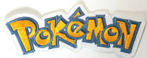Pokémon Logo Patch Embroidered Iron / Sew Badge Costume Pokemon Cosplay DIY Bag